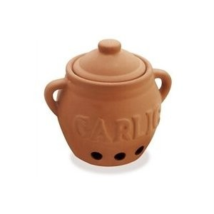 Progressive Terra Cotta Garlic Keeper