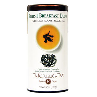 Republic of Tea British Breakfast Decaf Loose Leaf Tea