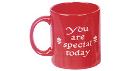 "Waechtersbach ""You are Special Today"" Mug-Red"