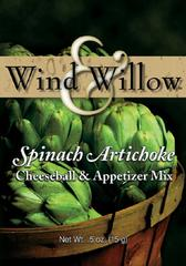 Wind and Willow Spinach Artichoke Cheeseball Mix