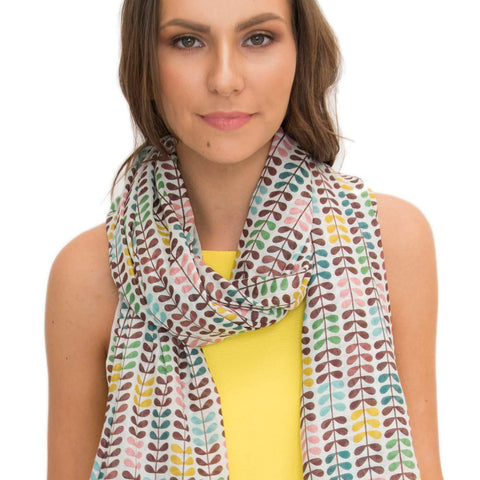 Allure scarf 100% Cotton scarf - Larder Homewares and Jewellery
