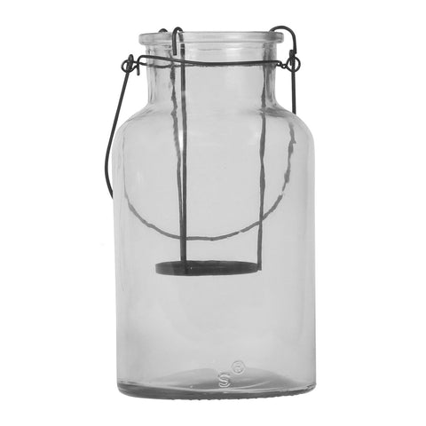 Bishop Glass Vase with Removable Candle Holder