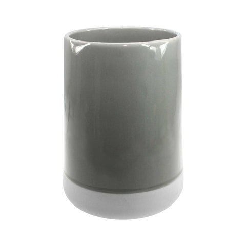 Kula Vase Warm Grey Larder Homewares Kitchen Australian Wholesale