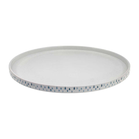 Raindrops Serving Plate LARDER Homewares and Kitchen Australian Wholesale