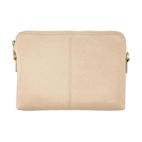 Tan Coloured Clutch / Handbag with Adjustable Strap - Lucy & Alice Jewellery