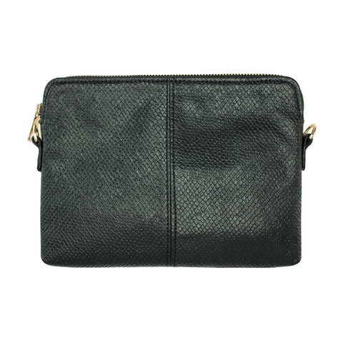 Black Coloured Clutch / Handbag with Adjustable Strap - Lucy & Alice Jewellery