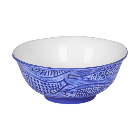 Cosmo Fish Large Serving Bowl - LARDER Homewares Crockery