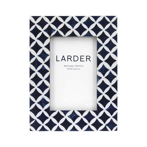 "Farah Photo Frame 4""X6"" Larder Homewares Kitchen Australian Wholesale"