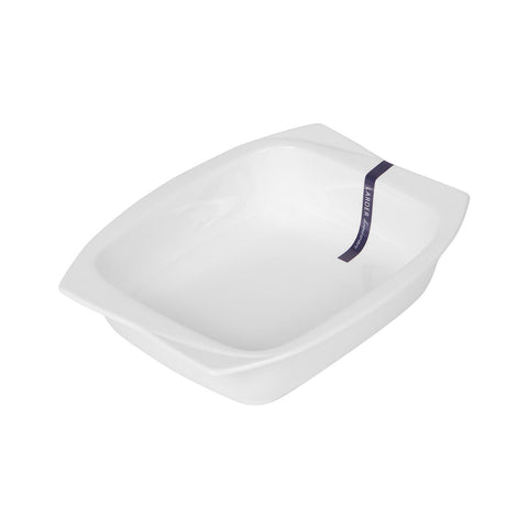 Marlo Small Baking Dish - LARDER Homewares White Crockery