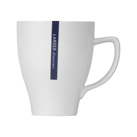 'Hepburn' Round Coffee/Tea Mug - LARDER Homewares White Crockery