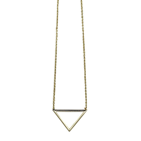 Arrow necklace gold - Larder Homewares and Jewellery