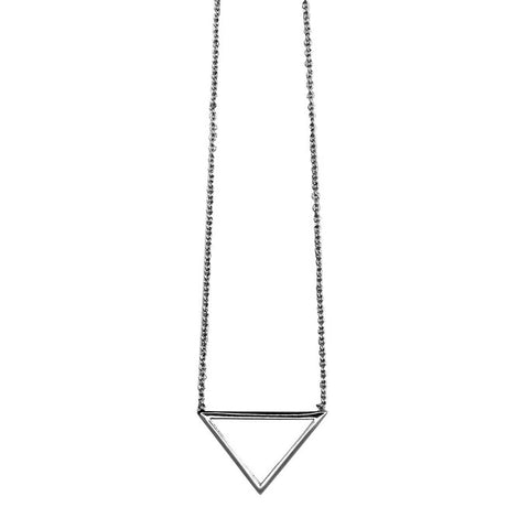 Arrow necklace Silver - Larder Homewares and Jewellery