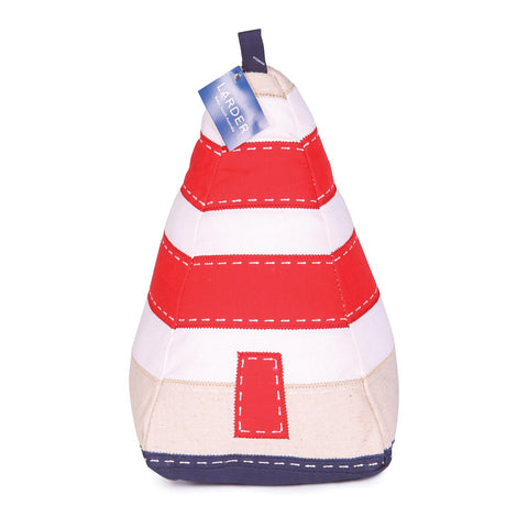 'Robe Obelisk, South Australia' Coastal Fabric Lighthouse Door Stop - Larder Homewares