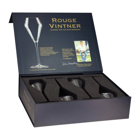 Rouge Vintner Sparkling Glass Gift Box Larder Homewares