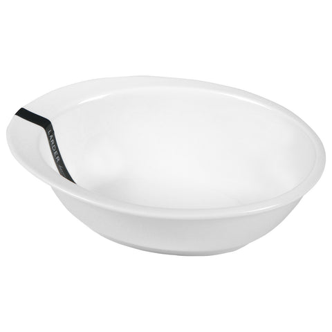 Meridian Large Salad Bowl - LARDER Homewares White Crockery