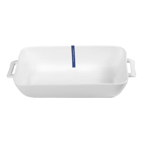 Cucina Medium Rectangle Baking Dish - LARDER Homewares White Crockery