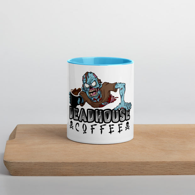 """Hardcore Zombie"" Series Colored Coffee Mug"