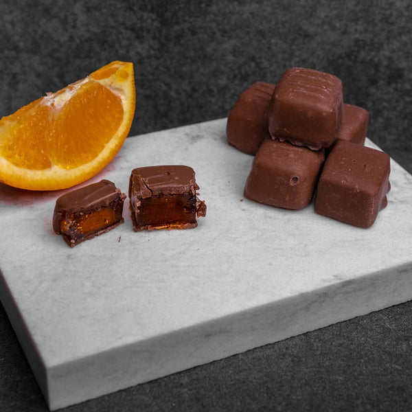 Milk Chocolate Orange Jelly - 1/2LB
