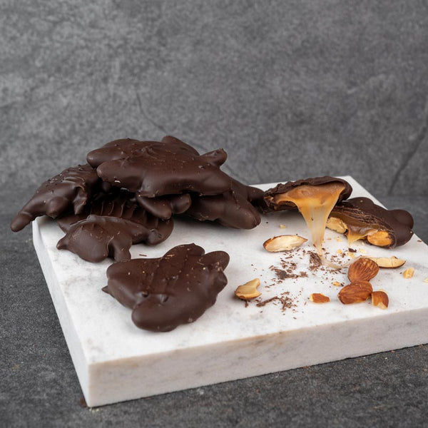 Dark Chocolate Almond Patty - 1/2LB