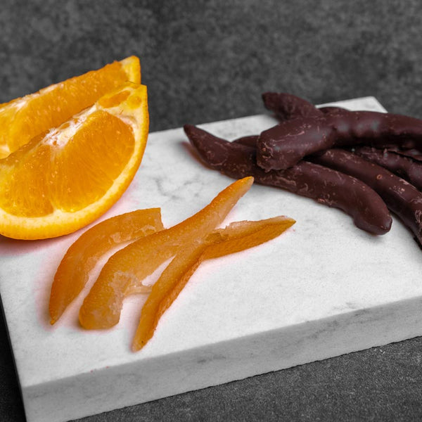 Dark Chocolate Orange Peel - 1/2LB
