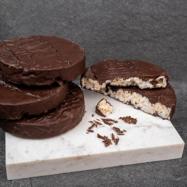 Dark Chocolate Rice Cake