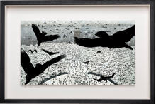 Load image into Gallery viewer, Ravens over Kells - Limited Edition Signed Print - Framed