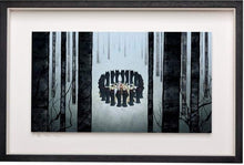 Load image into Gallery viewer, Circle of Wolves - Limited Edition Signed Print - Framed