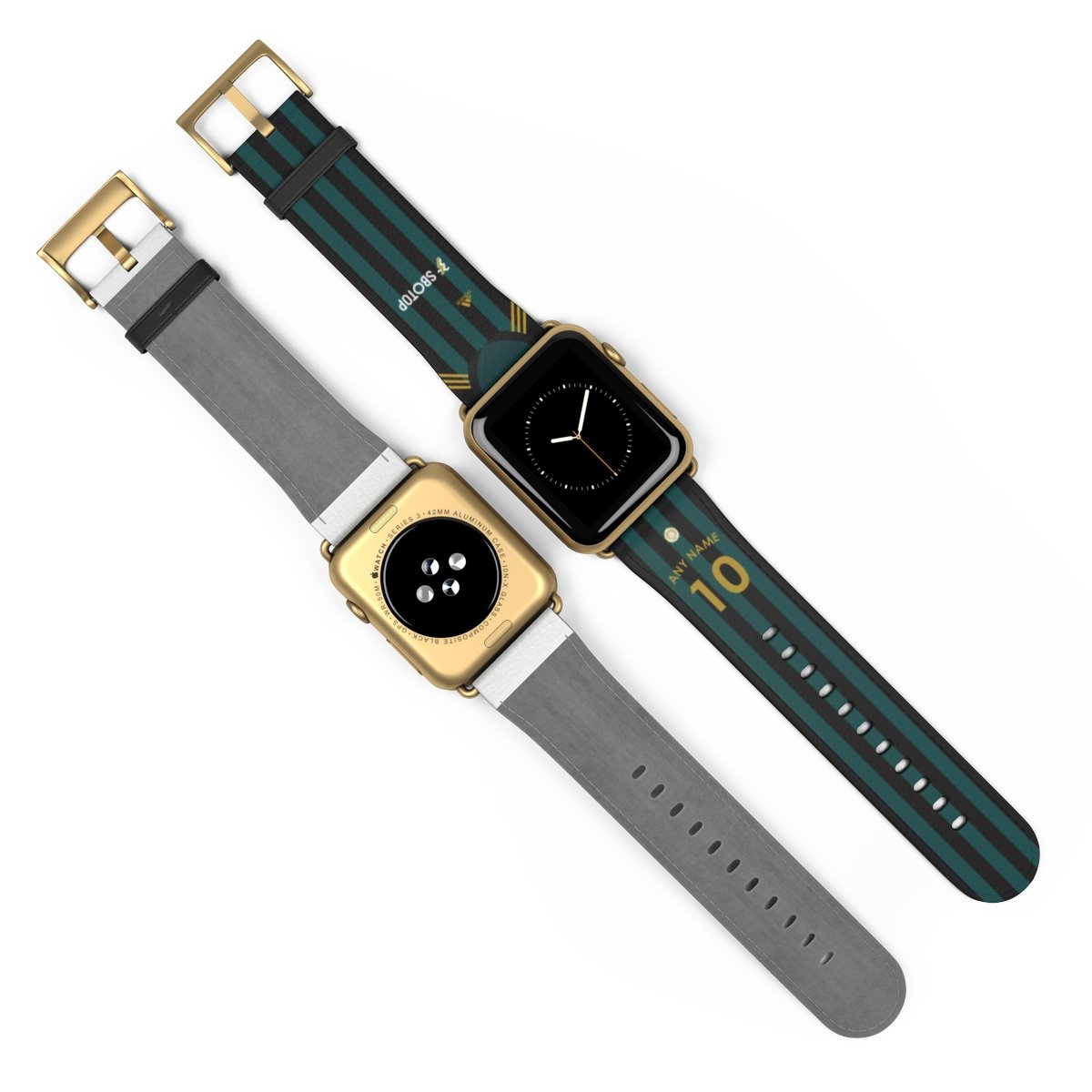 Personalised 2020/2021 Leeds Away Kit Style Replacement iWatch Band