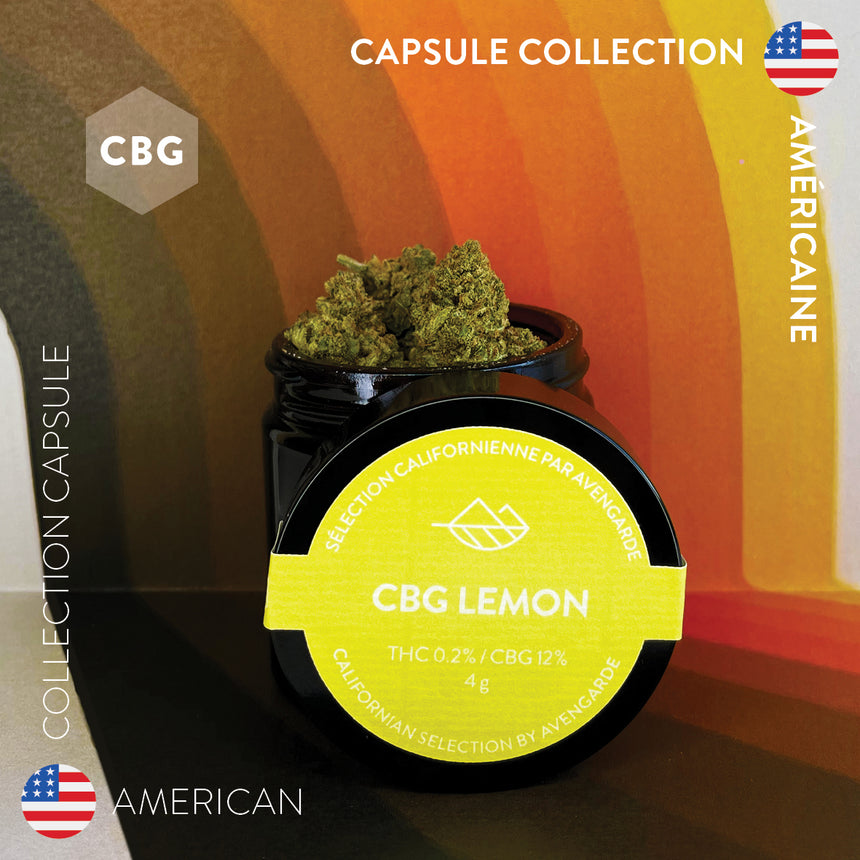 Sélection californienne: CBG LEMON