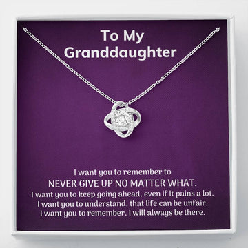 Granddaughter gift - Never Give Up