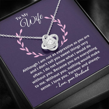 Beautiful necklace for wife