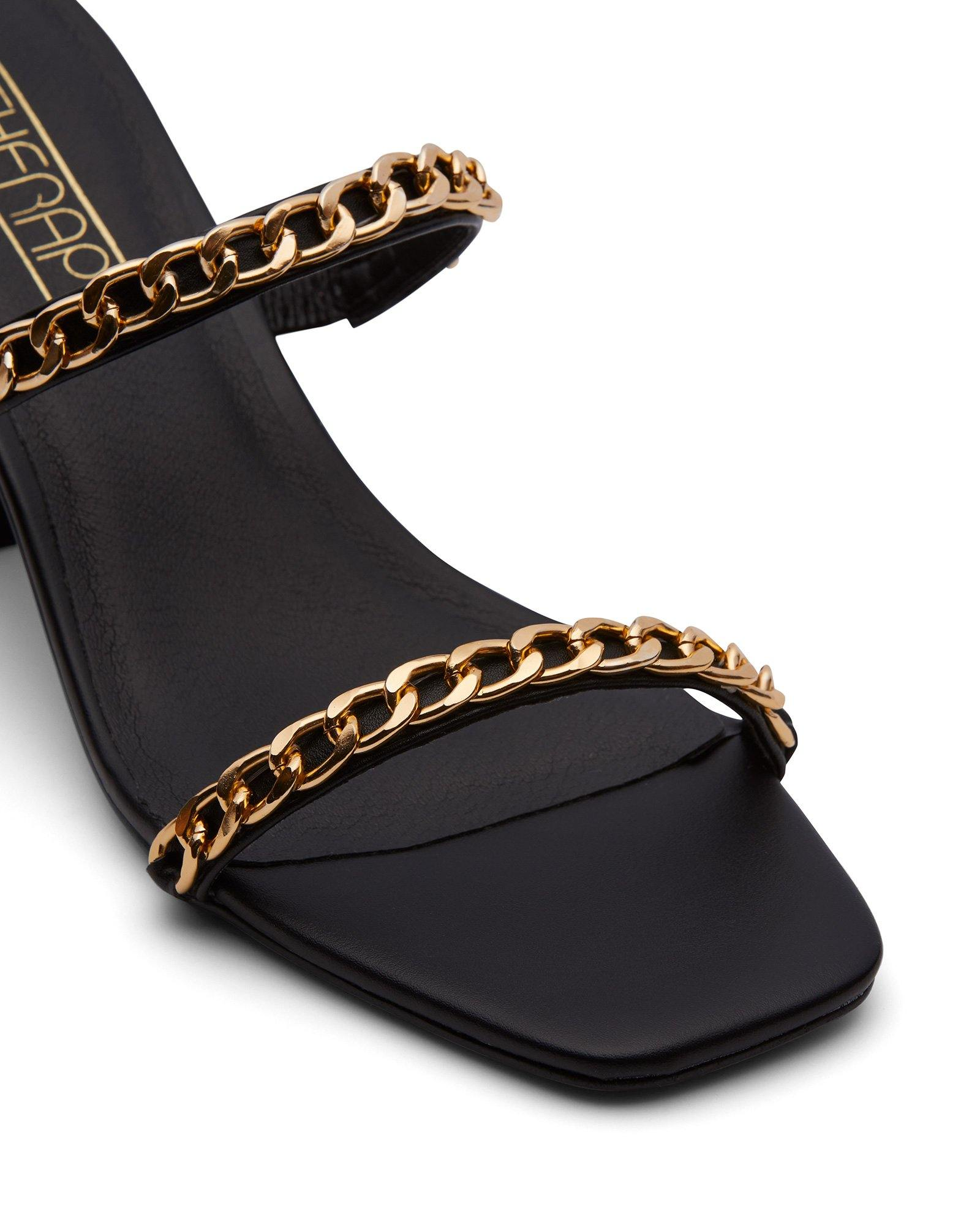 Goldie Chained Black