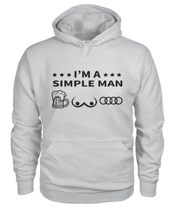 'I am a Simple Man' Premium Hoodie