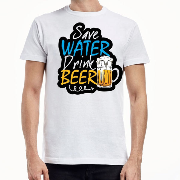 Save water drink bear T-shirt