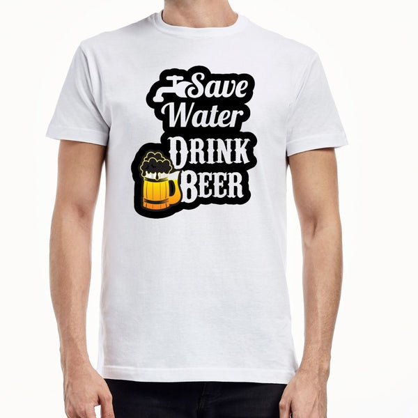 Save water drink bear T-shirt ( 1)