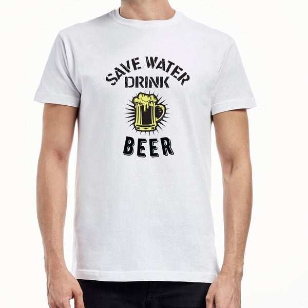Save water drink bear T-shirt ( 2)