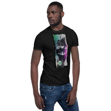 Load image into Gallery viewer, Agent Blue Eyes  T-Shirt Black