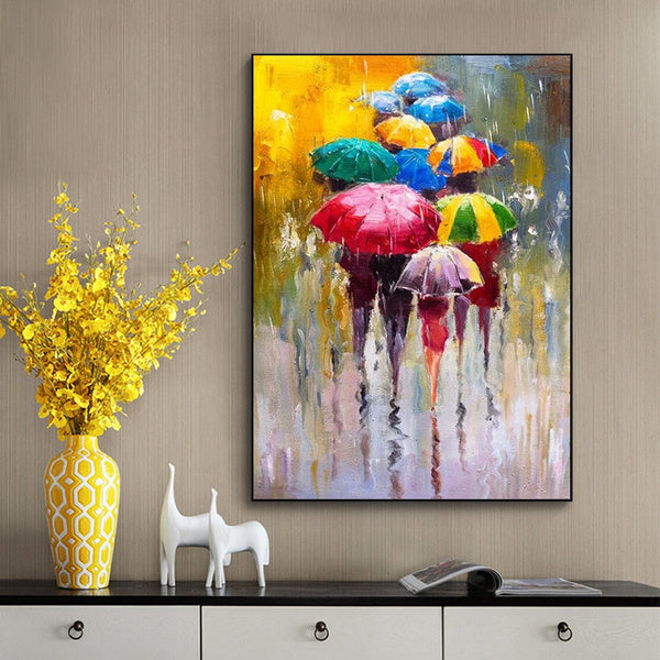 Unframed Oil Paintings Print On Canvas Wall