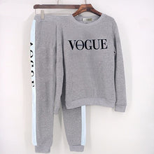 Load image into Gallery viewer, Womens vogue track suits