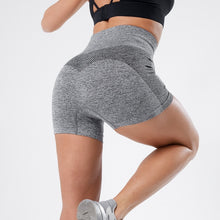 Load image into Gallery viewer, MTM high waist seamless workout shorts