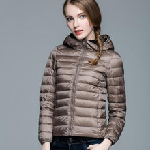 Load image into Gallery viewer, Warm ultralight mtm womens coat