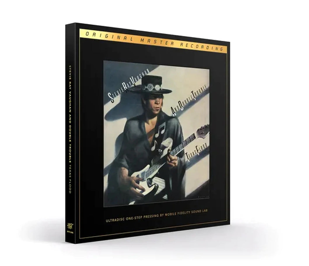 Stevie Ray Vaughan And Double Trouble Texas Flood Numbered Limited Edition 180g 45rpm One-Step SuperVinyl 2LP Box Set MFSL