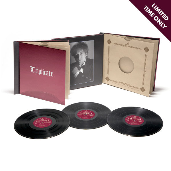 Bob Dylan - Triplicate: Deluxe Book Edition (Numbered Case Limited 180g Vinyl 3LP + Download) OOP