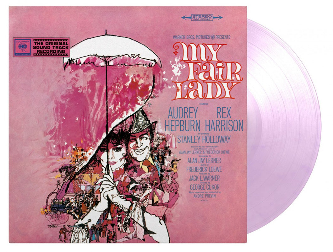 My Fair Lady Soundtrack Numbered Limited Edition 180g 2LP Transparent Purple Swirled Vinyl