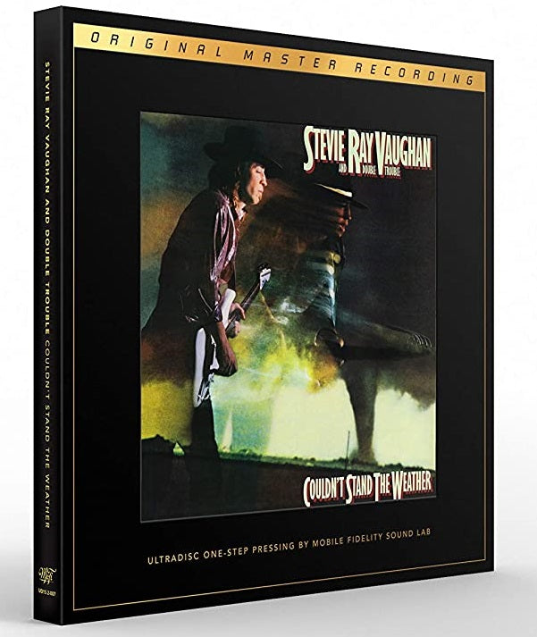 STEVIE RAY VAUGHAN AND DOUBLE TROUBLE - COULDN'T STAND THE WEATHER 2LP BOX 180 GRAM 45RPM MFSL ULTRADISC NUMBERED