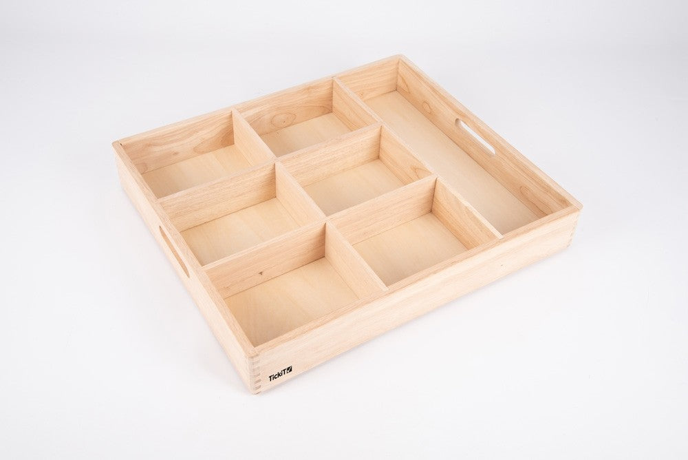 Tickit Wooden Sorting Tray