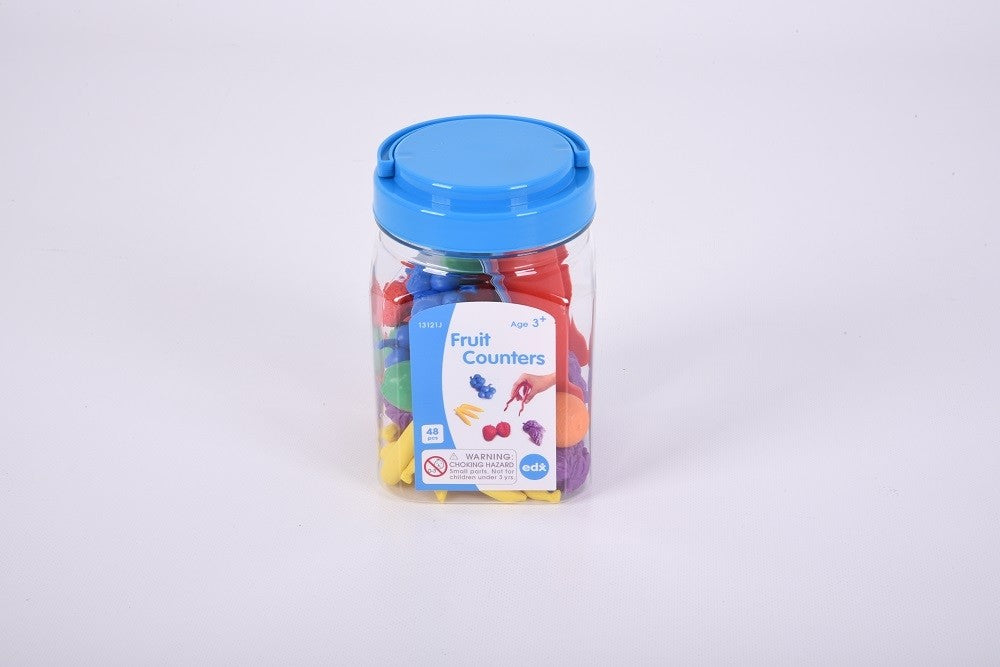 Fruit Jar Counters 48pcs with Tweezers
