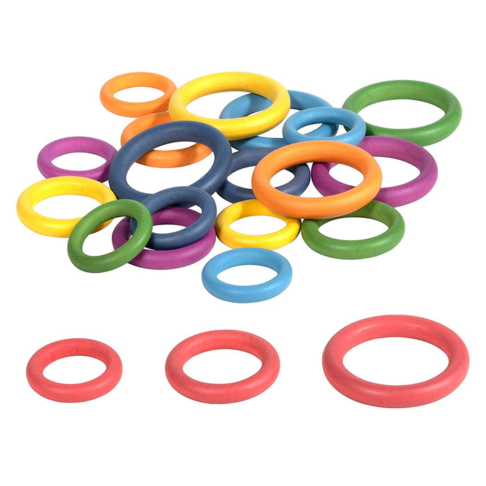Tickit Wooden Rings
