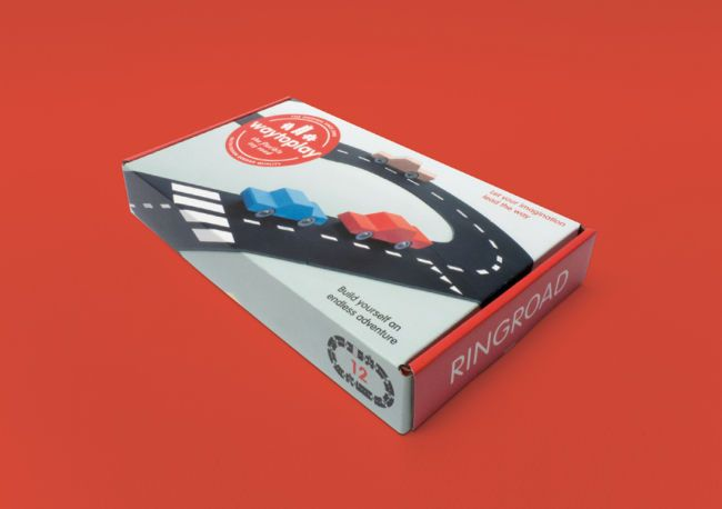 Way To Play Flexible Roads - RINGROAD 12 pcs
