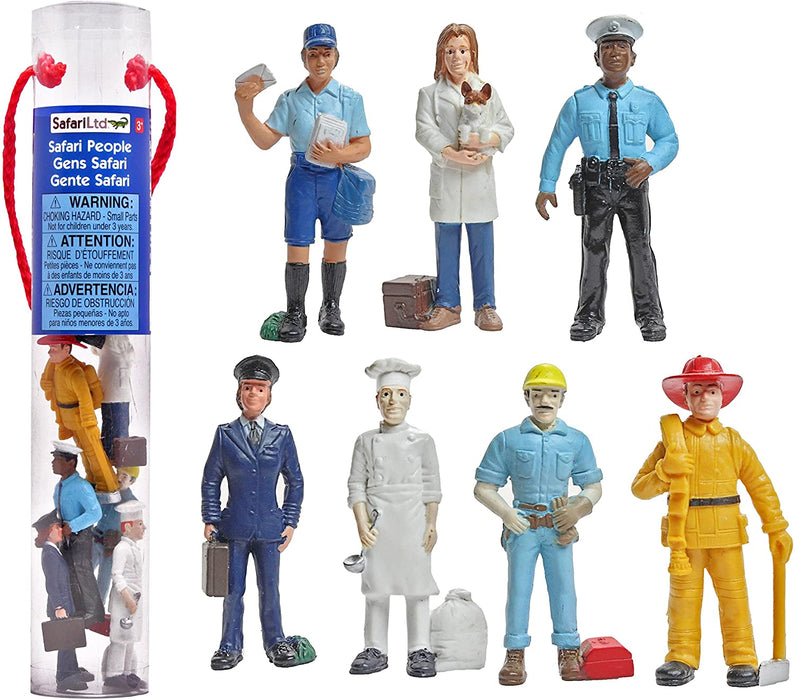 Safari Toob - People at Work (7pcs)